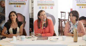 Saneamiento del Atoyac no sólo depende de lo económico: Martha Erika