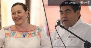 Te veo en el debate del IEE, responde Martha Erika a Miguel Barbosa