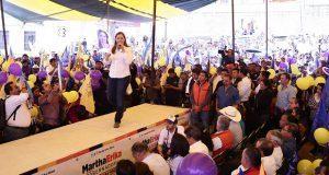 Martha Erika se compromete a mejorar la conectividad de Tochimilco
