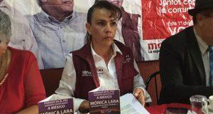Pugnará Mónica Lara por una fiscalía de delitos de género en Puebla