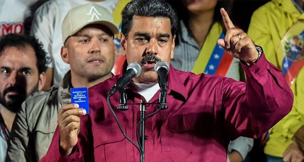Con más de 5 millones de votos, reeligen a Maduro en Venezuela