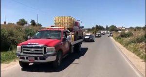 Recuperan 7 vehículos con gasolina robada en Santa Rita Tlahuapan