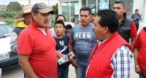 Antorchista Rosendo Vázquez llama a impulsar la cultura en Ocoyucan