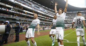 América fracasa ante Santos que jugará la final contra Toluca