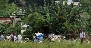 Por caída de avión en Cuba, mueren 6 tripulantes mexicanos y 101 pasajeros
