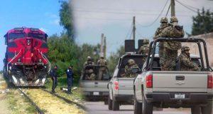 Por robos, Ejército vigila vías de trenes entre Veracruz y Puebla