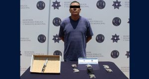 Detienen a presunto ladrón de celular a usuaria de ruta Cree-Madero