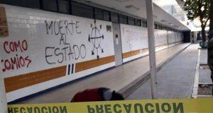 Vandalizan y roban equipo en Facultad de Derecho de la UNAM