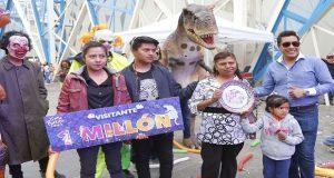 Feria de Puebla 2018 festeja con regalos a visitante 1 millón