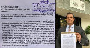 """Denuncian en PGR a Ricardo Alemán por """"apología del delito"""""""
