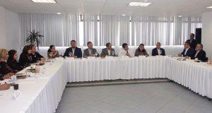 Fernando Manzanilla y Barbosa presentan agenda estatal en Canaco