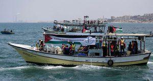 ¿Por qué barcas palestinas zarparon al mismo tiempo?