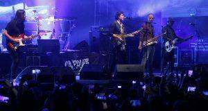 Con sus grandes éxitos, Caifanes cierra la Feria de Puebla 2018