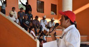 Jóvenes de Huitzilan piden construcción de espacios para deportes