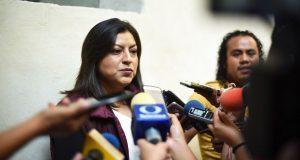 Claudia Rivera, a favor de los matrimonios igualitarios en Puebla