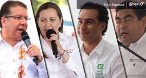 Para el 13 de junio, debate entre candidatos a la gubernatura de Puebla