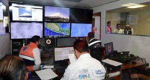 Entregan 10 vehículos e instalaciones nuevas a PC de Puebla capital