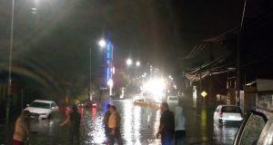 Tras lluvia, se inundan estas avenidas de Puebla capital