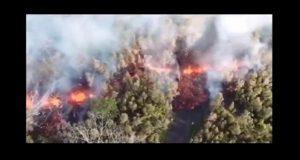 Erupción de volcán en Hawaii provoca evacuación de 10 mil habitantes