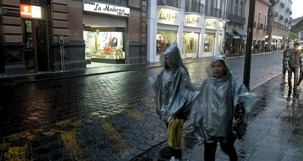 SMN pronostica tormentas y lluvias fuertes en Puebla