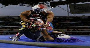 Cierra lucha libre en Feria de Puebla con cartel de lujo