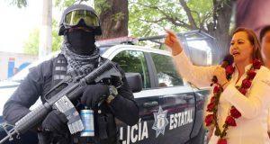Martha Erika reconoce San Martín vive en inseguridad y es foco rojo