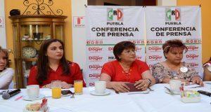Mujeres priistas descartan misoginia de Doger contra Martha Erika
