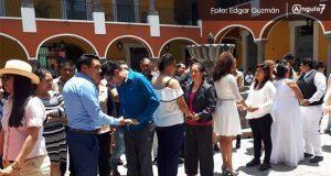 ¡Boda colectiva!: 13 parejas de comunidad Lgbttti se casan en Puebla