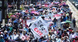 CNTE niega pacto con AMLO; lucha seguirá tras comicios, advierte
