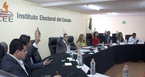 Consejo general del IEE celebra reanudación de sesión ordinaria