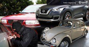 En 11 meses, sube 70% robo de vehículos en Puebla