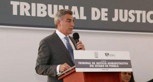 Puebla es referente nacional en justicia administrativa: Gali