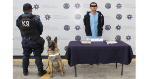 Detienen a sujeto en la CAPU por posesión de dos kilos de heroína