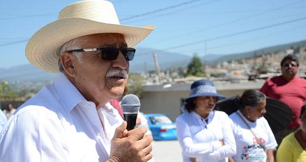 Diputación es para resolver necesidades del pueblo: Lisandro Campos