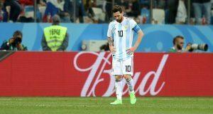 Argentina prácticamente eliminada al caer 3-0 ante Croacia