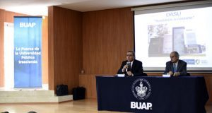 Dan conferencias de seguridad para titulares de facultades en BUAP