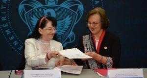 BUAP y Cruz Roja Mexicana colaboran en formación de profesionales