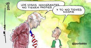 Caricatura: A Trump le falta madre