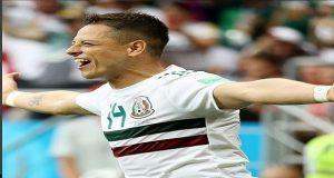 México vence 2-1 a Corea el Sur y está cerca de los octavos de final