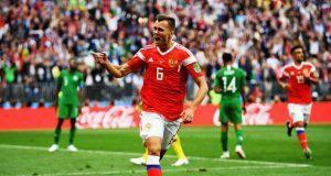 Rusia inaugura la Copa del Mundo con goleada sobre Arabia Saudita