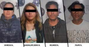 Detienen a 4 por intentar robar caja fuerte de negocio en Santa Cruz