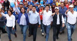 Trabajaría con ciudadanos para mejorar Puebla: Eduardo Rivera