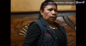 Candidata de NA por alcaldía de Puebla asegura que votará por AMLO