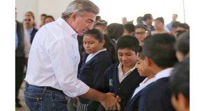 Gobierno estatal de Puebla promueve valores entre los estudiantes
