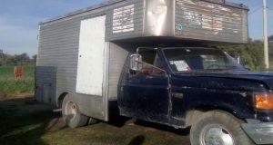 Aseguran en Huejotzingo 3 camionetas usadas para llevar huachicol