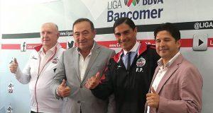 Francisco Palencia presentado como nuevo DT de Lobos BUAP