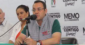Estructura del PRI vigilará 100% de casillas en Puebla: Deloya