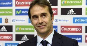 Julen Lopetegui, nuevo director técnico del Real Madrid