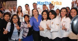Martha Erika, con el mejor perfil para gubernatura: Nadia Navarro