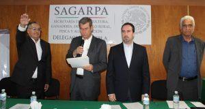 Nombran a Barnard Alcaraz nuevo delegado de Sagarpa en Puebla